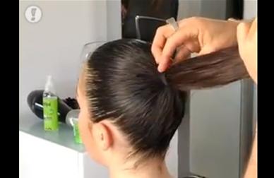 מראה שיער מתוח